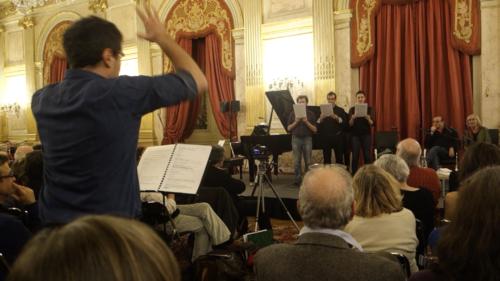 Sus à la Bibliothèque ! (choir), Hôtel de Lassay - Vincent Thomasset