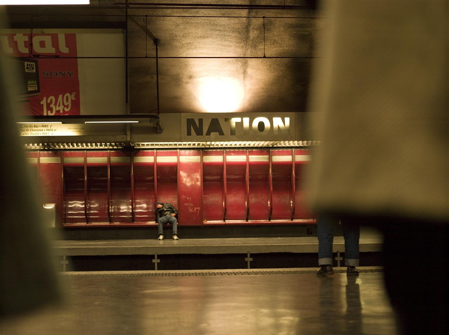 RER A Paris-Noisiel, TRAM – Hospitalités - Vincent Thomasset